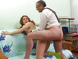 Doggystyle penetrating relating to instructor