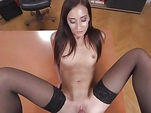 Heather Harris  Dark haired Princess Screwed in the Of