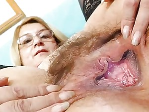 Ripe spandex jizz-shotgun act with madam