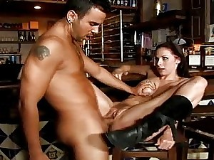 Meaty man rod for highly fur covered tramp Gianna Michaels