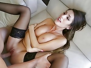 Large jugged stunning woman August Ames