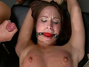 Sweetheart receives bitter pussy chastisement encircling return