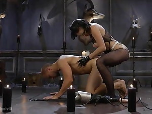 Femdom domination and torture