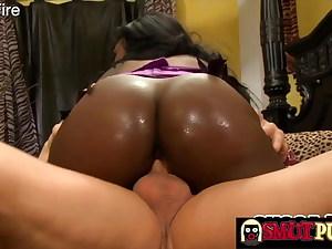 Smut Ragdoll - Ebony Goddesses Railing Big Sausages Compilation