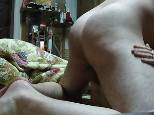 Russian hairy mature amateur fuck