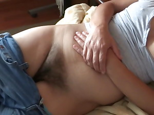 58 Yr Elder Latina Mom Demonstrating Her Hairy Pussy, Cheating Husband