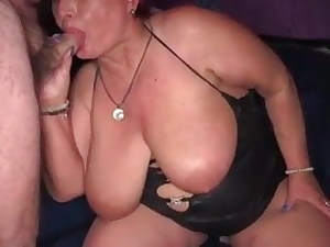 Mature plumper getting fingered and squirting