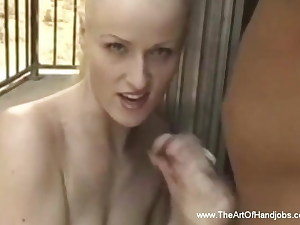 Outdoor hand-job is Great  Popshot Experience Session