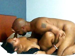 Ebony Freak Gets Unwanted Full Creampie In Cock-squeezing Pussy
