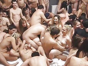 DAMN! Charges this outstanding swinger lovemaking soiree