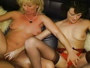 Fledgling swingers are filmed beside each time others wives